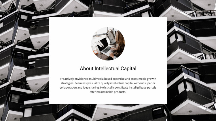 Intellectual capital Html Website Builder