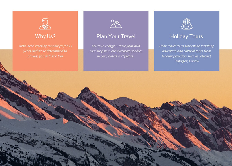 The benefits of traveling Web Page Design