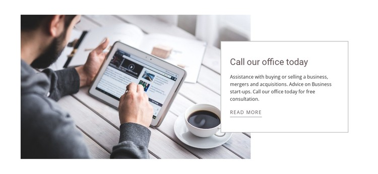 Global offices CSS Template