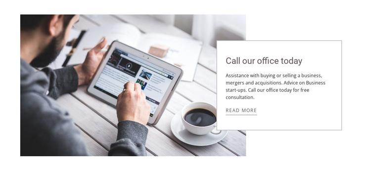 Global offices Joomla Template