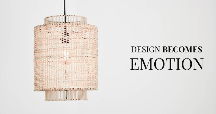 Design is emotion HTML5 Template