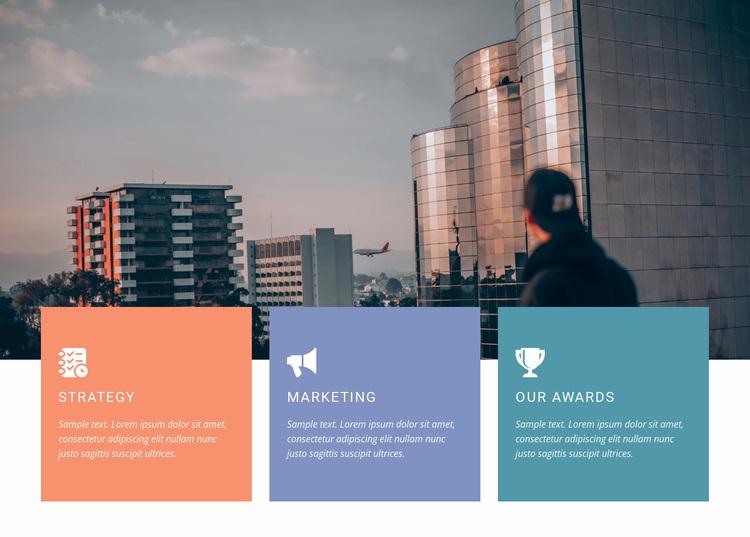 Bold steps forward Website Design