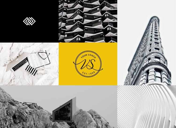 Modern art gallery WordPress Theme