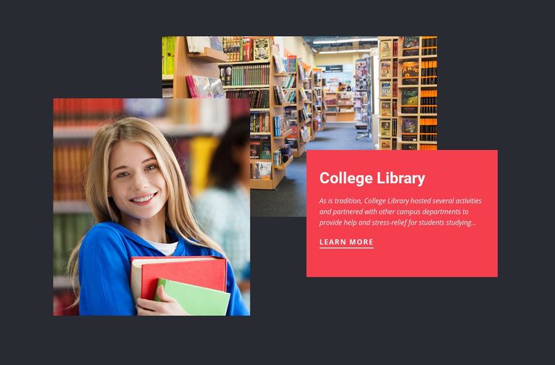 College library Website Creator