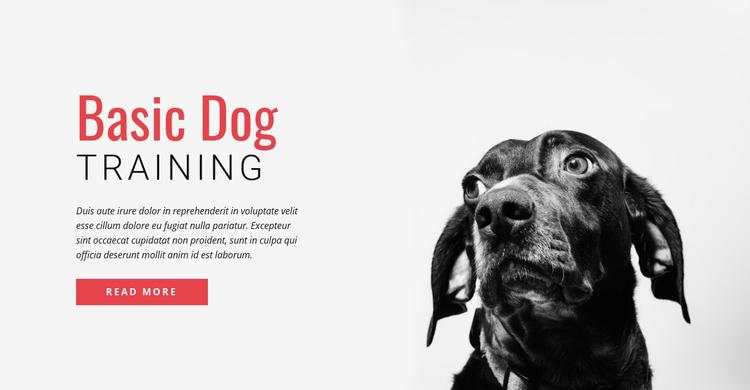 Training new skills Website Template