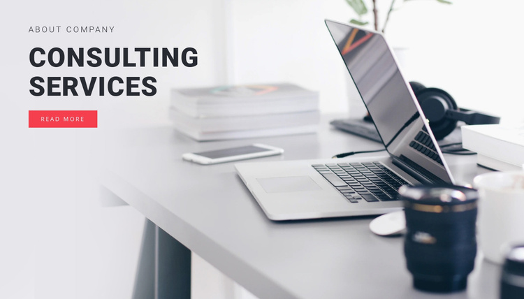 Consulting services  Joomla Template