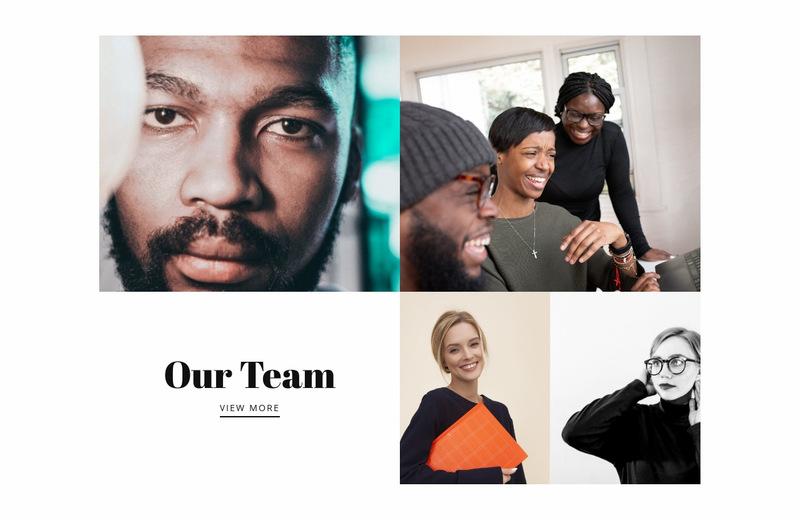 Our team photos Web Page Designer
