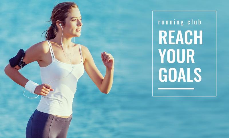 Pick your running goal Web Page Designer