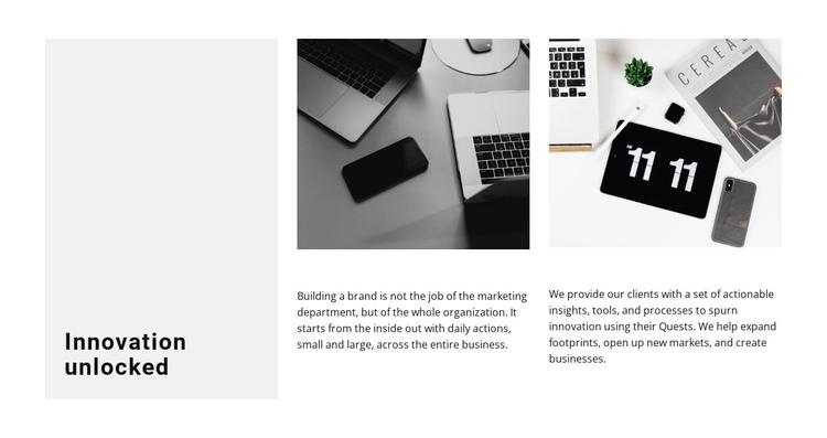 Innovative approach Website Builder Software
