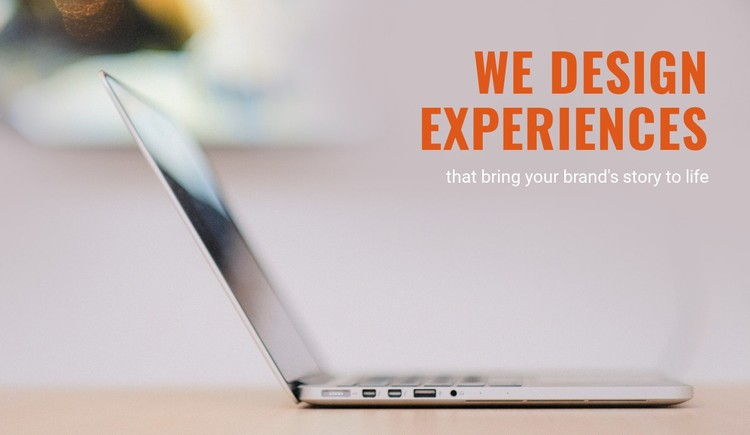 Brand experience agency Static Site Generator