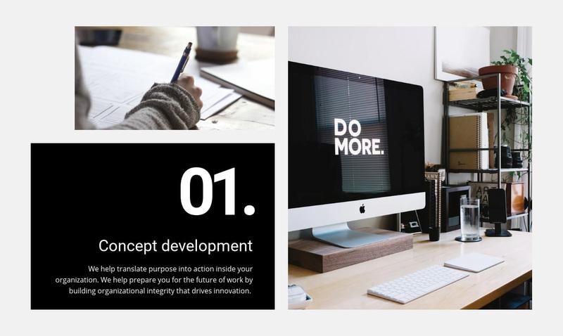 We create experiences that people love Website Creator