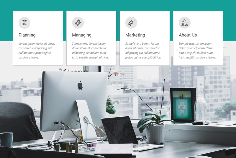 Smart financial choices Web Page Design