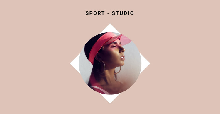 Sports studio HTML Template