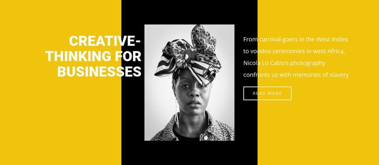 History of slavery Homepage Design