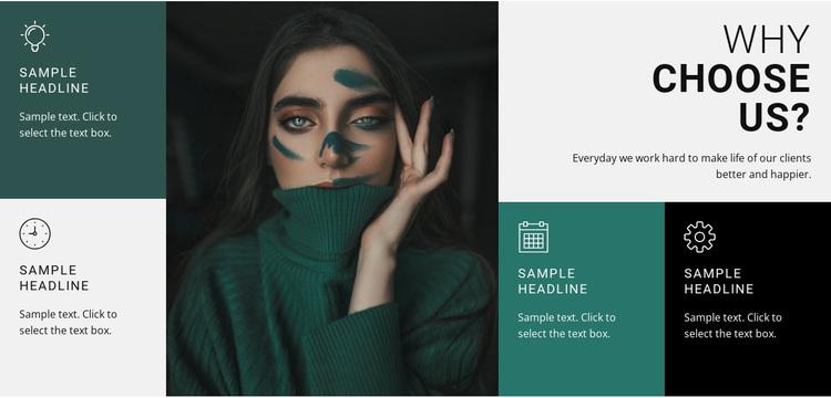 Fashion stylist Website Design