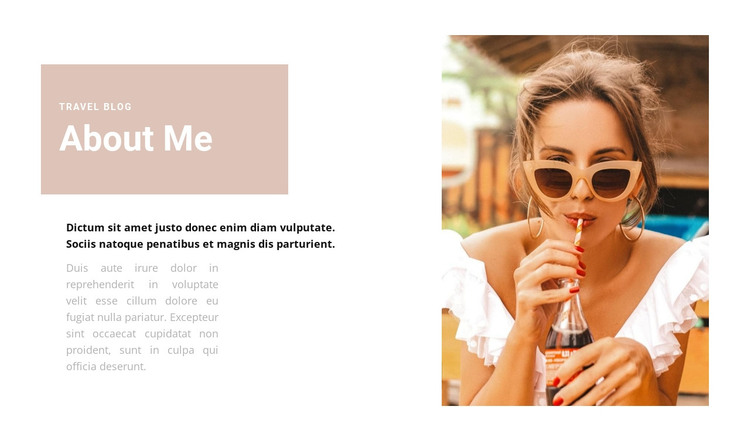 Travel specialist HTML Template