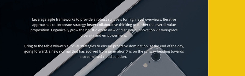 New gadgets for business Web Page Design