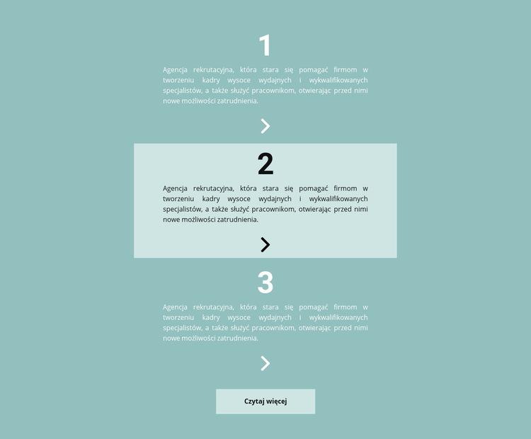 Lista ważnych rzeczy do zrobienia Szablon witryny sieci Web