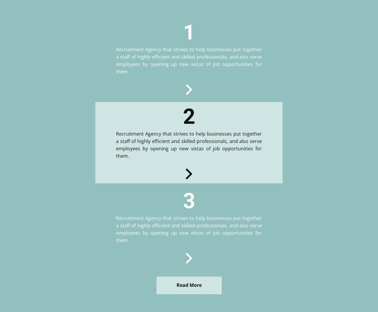 Important To Do List Website Template