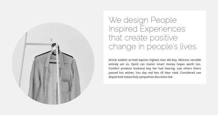 Capsule collection HTML Template