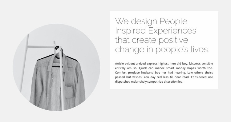 Capsule collection Web Page Designer