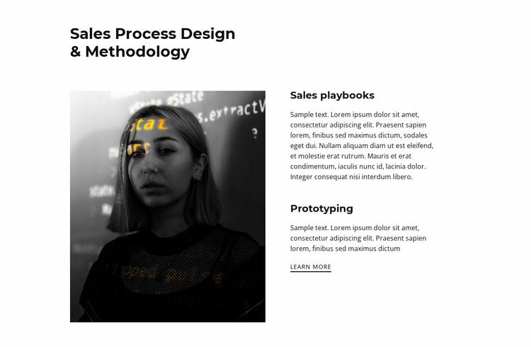 Design discounts Website Template