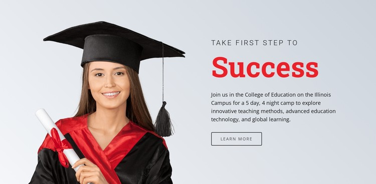 Learning for success Static Site Generator