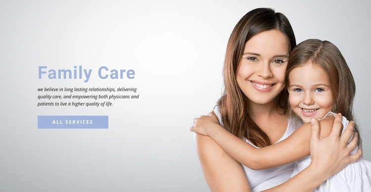 Connect with your doctor Website Template