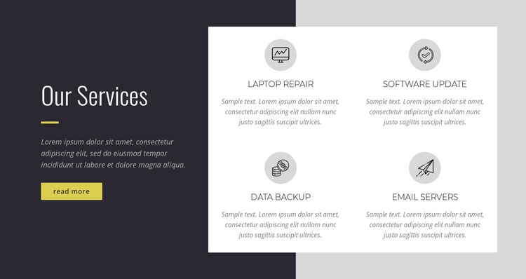 Innovation entrepreneurship HTML5 Template