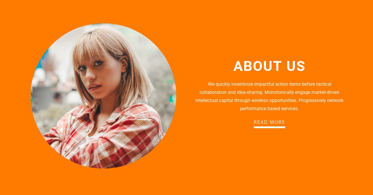 About our coach and trainers WordPress Theme