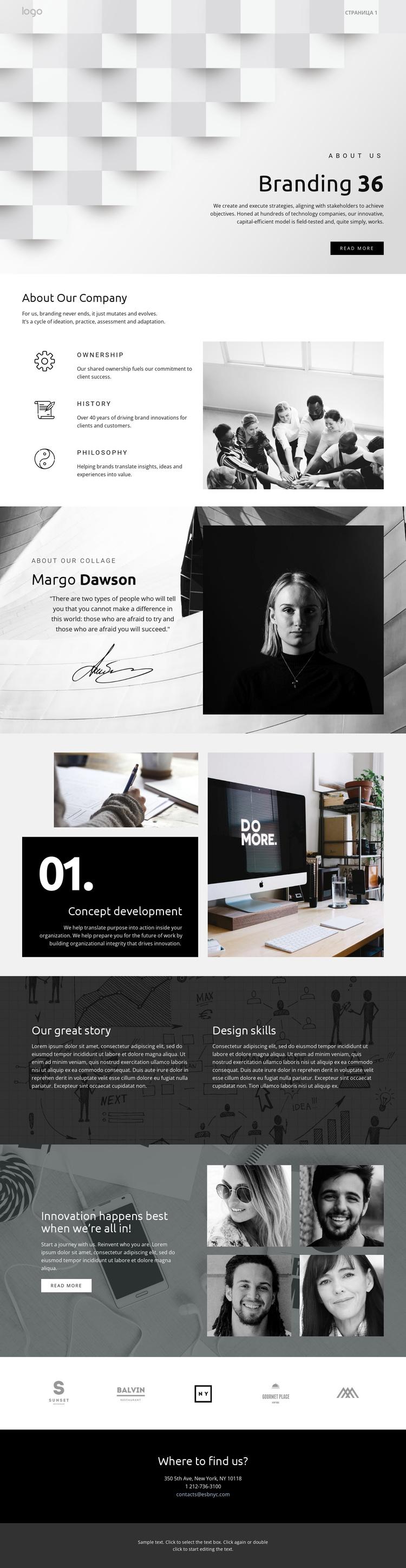 Futuristic standout business Joomla Template