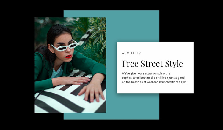 Street style store Website Template