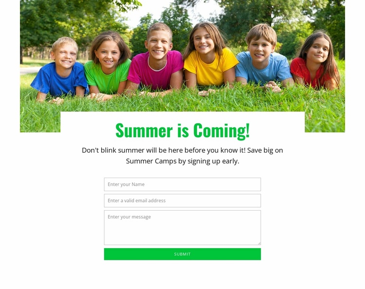Dynamic learning experience Website Template