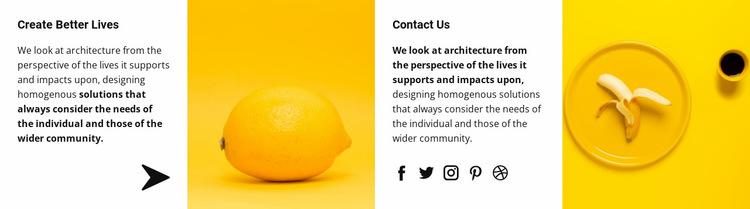 Creative art and design Website Builder