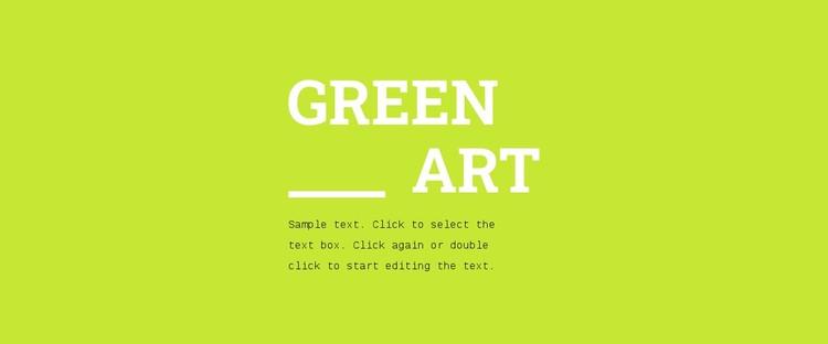Bright colors in design Static Site Generator