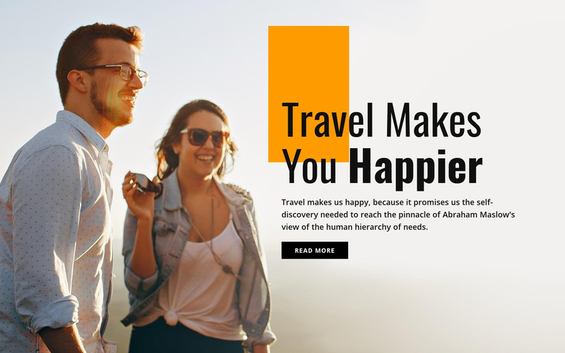 Amazing travel destinations Website Creator