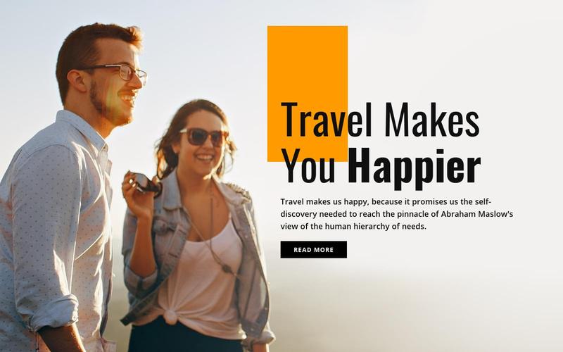 Amazing travel destinations Website Maker