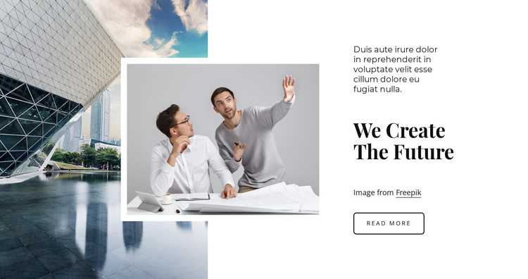We are the future Website Builder Software