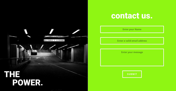 The power gym HTML5 Template