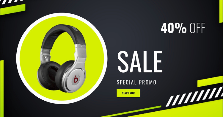 Special Music Equipment Website Design