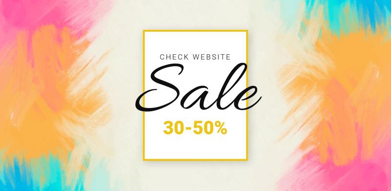 Check the big sale Website Maker