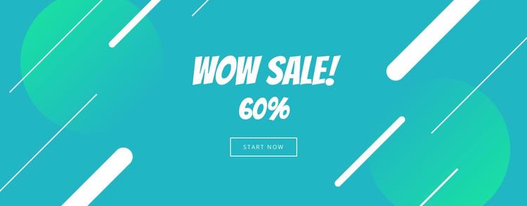 Big sale  Woocommerce Theme