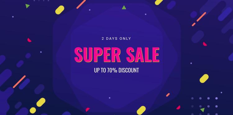 3 Days only sale WordPress Website Builder