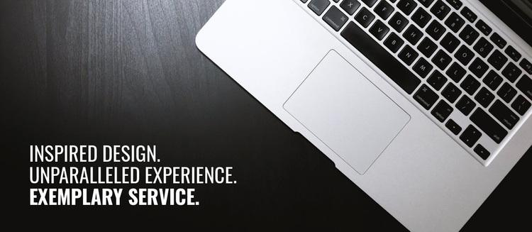 New trends in design Website Design