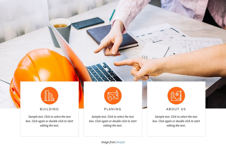 Urban agglomerations HTML5 Template