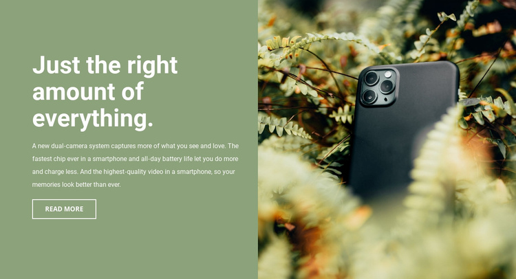 Macro photography Website Template