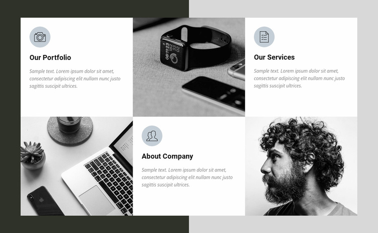 About Us Website Template