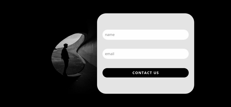Application form Website Template