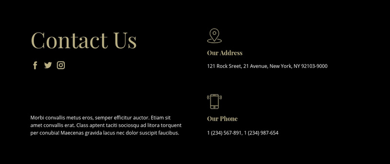 Contact with our managers Website Maker