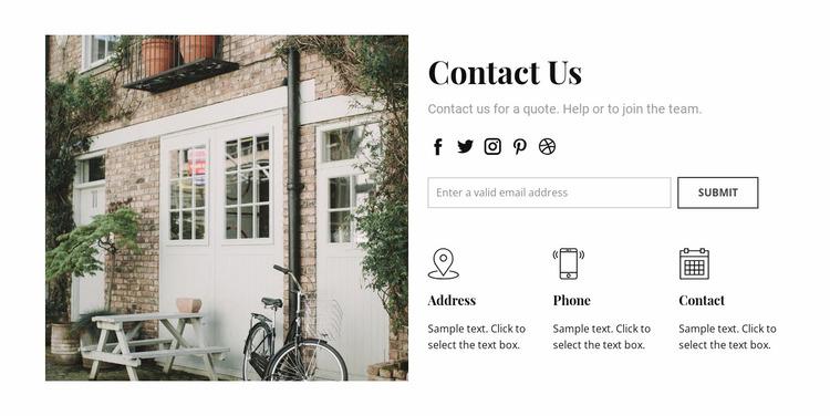 How to find agency Website Mockup